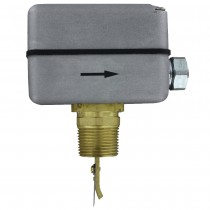 "FS-2-CND - Dwyer Paddle Flow Switch, 1"" Female NPT/Conduit, 145 psig, SPDT, Brass"