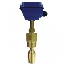 "IEFS-0LB - Dwyer Insertion Electromagnetic Flow Sensor, No Hot-Tap, 10 to 48"" Pipe, Brass"