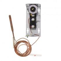 A19ABC-12C - Johnson Controls Remot Bulb Temp Control, 100-240F, Adj Diff, (8ft Cap)
