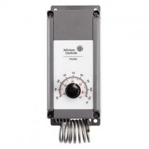 A19PRC-1E - Johnson Controls SPDT Coiled Bulb Temperature Control w/ Knob Range Adjuster, 30 - 110F, 3°F Differential