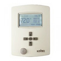 BAC-131136CE - KMC Controls Controller, BACnet, 3R6A, RTC, CO2, Humidity, Motion, IP, Almond, 24VAC
