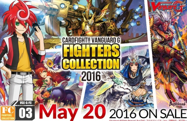 "Cardfight!! Vanguard ""Fighters Collection 2016"" Sneak Peek @ Maitland | Florida | United States"