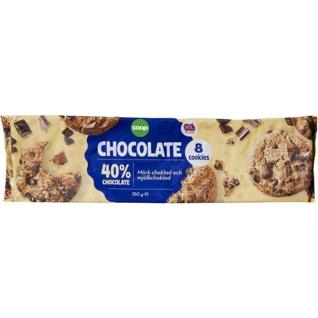 Cookies Mörk Choklad & Mjölkchoklad