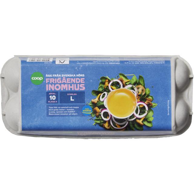 Ägg L Frigående 10-Pack