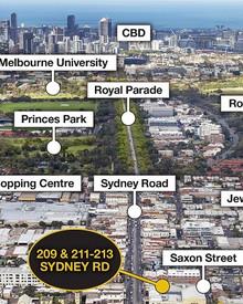 209 and 211-213 Sydney Road BRUNSWICK VIC 3056