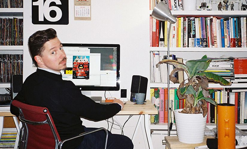 An interview with multi-talented graphic designer Tom Muller
