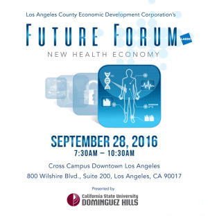 LAEDC Future Forum - New Health Economy @ Cross Campus Downtown LA