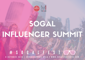 SoGal Influencer Summit @ Cross Campus Downtown LA