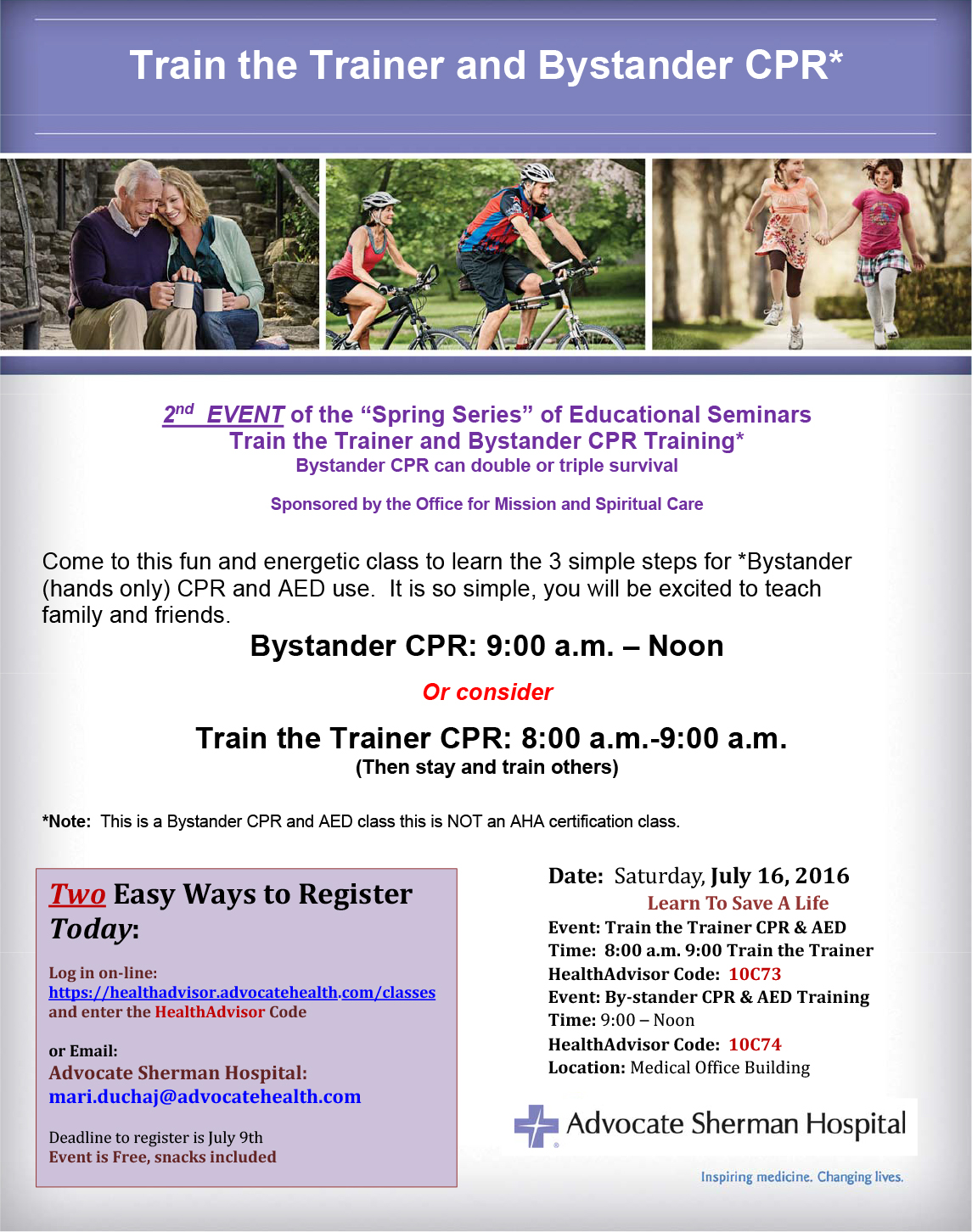 Register today train the trainer by stander july 16 idgcaz