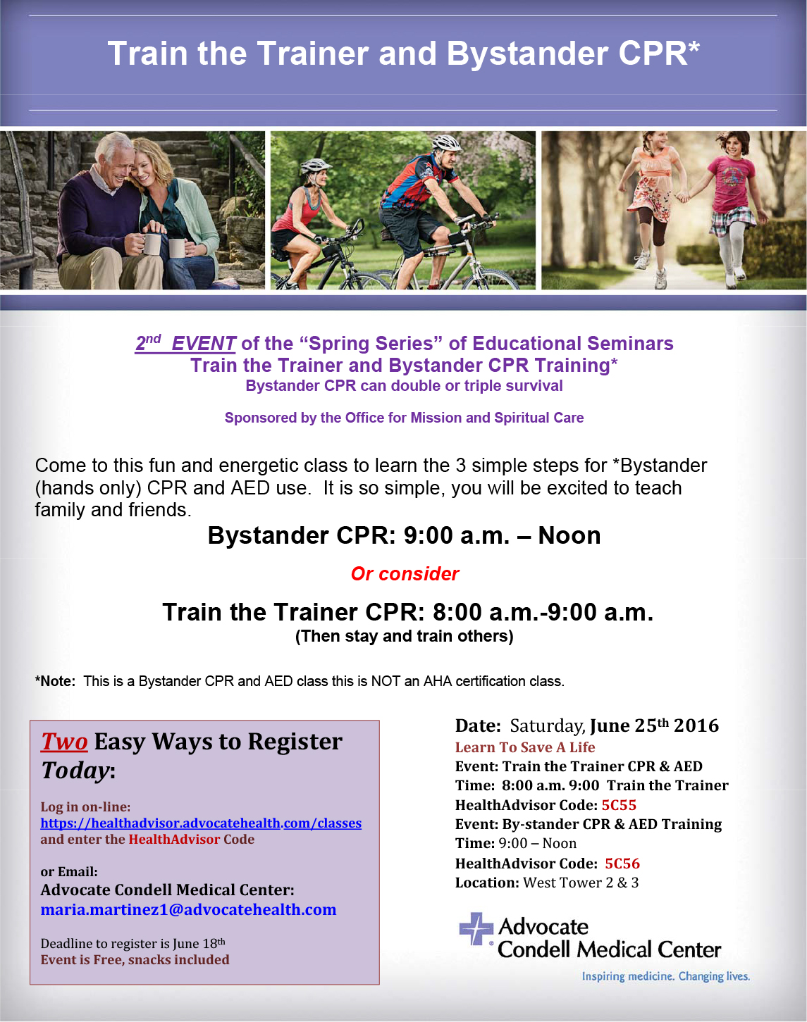 Register today train the trainer by stander june 25 2016 auubhq