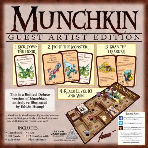 Munchkin Guest Artist Edition (Edwin Huang)