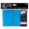 Ultra Pro Sleeves ~ 80 count ~ Standard Sized ~ Pro~Matte Eclipse Light Blue