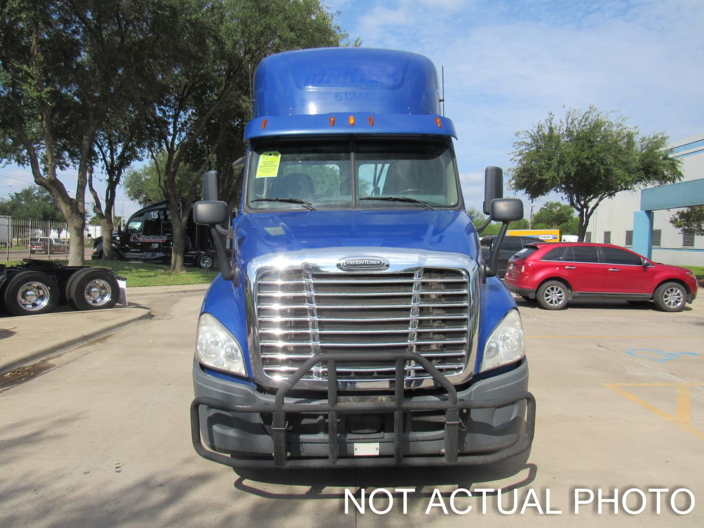 2015 Freightliner Cascadia 125 UFSGA3458 full