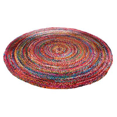 Teppich Harlekin, Baumwolle, Polyester