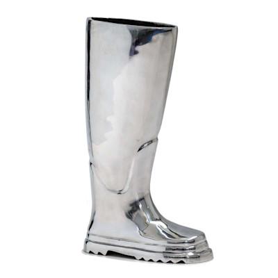 Regenschirmständer Stiefel, Aluminium