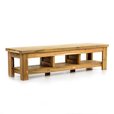 Lowboard Woody, Teak-Holz