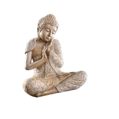 Dekofigur Buddha Relax, Kunststein