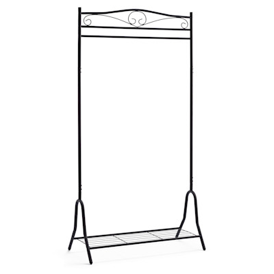 Garderobe Air, mit Schuhablage, Metall