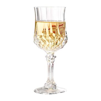 "CHRISTAL DARQUES ""Weißweinglas-Set """"Longchamp"""", 6-tlg., geschliffen, klassisch"""