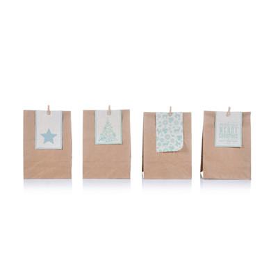 Geschenktüten-Set, 4-tlg.