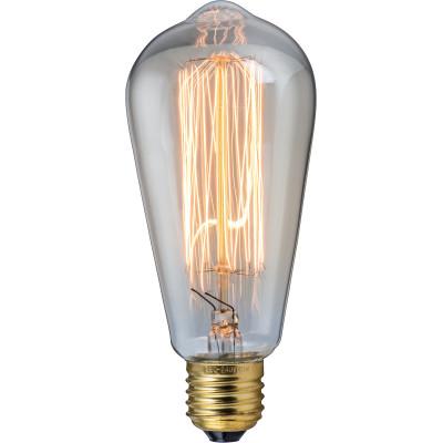 HEITRONIC Glühlampe Vintage 60W, E27, 230V, Retro-Look