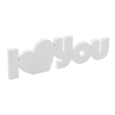 Best of home Deko-Schriftzug I Love You