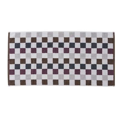 Handtuch Basic Karo, Baumwolle, 50x100 cm