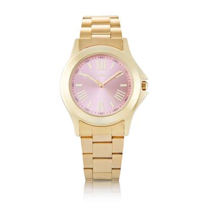 Coco Milano Armbanduhr, farbiges Ziffernblatt