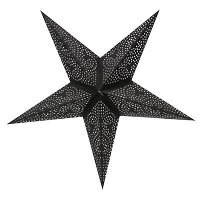 Dekohänger, 5-zackig Stern Dark, Papier
