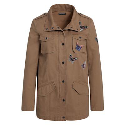 IMPRESSIONEN fashion Jacke, Schmetterlinge