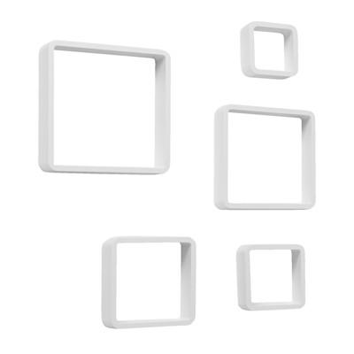 """""""Regalset """"""""Cube"""""""", 5-tlg., modern, Holz"""""""