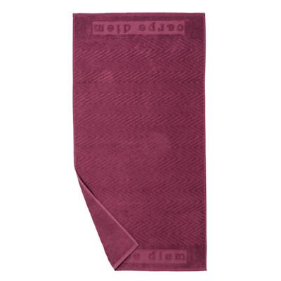 Handtuch Carpe Diem, Baumwolle