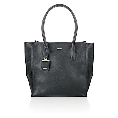 DKNY Shopper, klassisch, Rindsleder