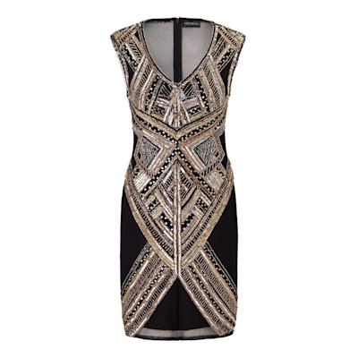 IMPRESSIONEN fashion Kleid, Pailletten, figurbetont, elegant