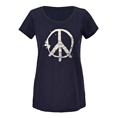 fashmob T-Shirt, Peace-Zeichen