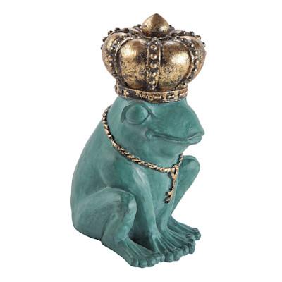 miaVILLA Dekofigur Froschkönig