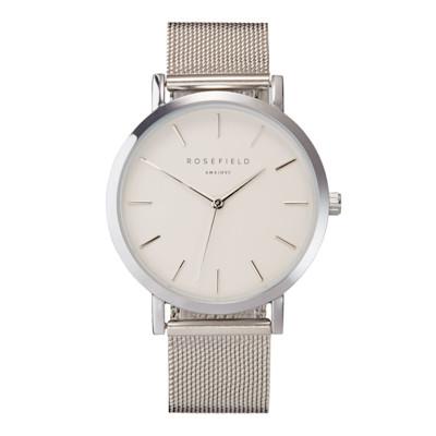 ROSEFIELD Armbanduhr, Milanaise-Armband