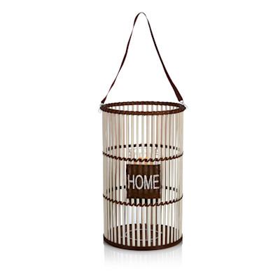 IMPRESSIONEN living Laterne, Home , Natur-Look, Bambus