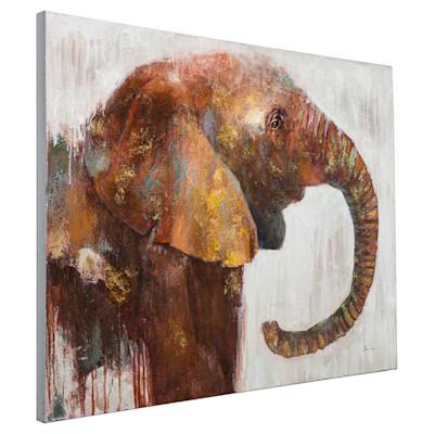miaVILLA Bild Elephant, handgemalt, ca. 90 x 120 cm