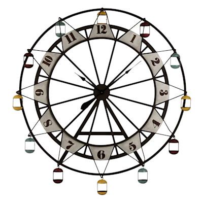 miaVILLA Wanduhr Ferris Wheel