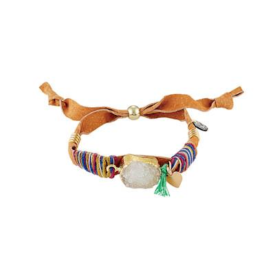 IMPRESSIONEN fashion Armband, Achat-Stein