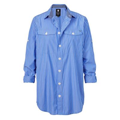 G STAR RAW Hemd, Nadelstreifen, oversized
