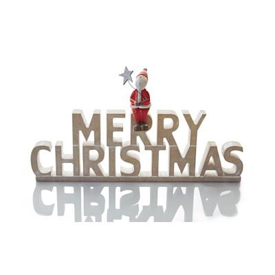 Deko-Schriftzug Merry Christmas