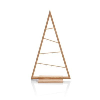 IMPRESSIONEN living LED Holzbaum, dekorierbare Metallösen, Holz, LED-Tape, in 2 Größen