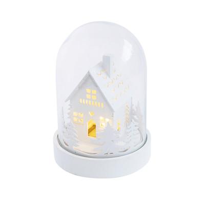 Beleuchtetes Deko-Objekt Kuppel Wintertraum