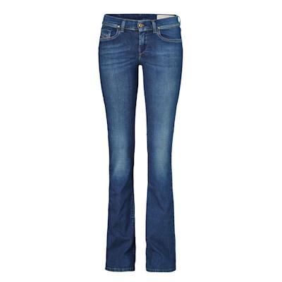 DIESEL Bootcut Jeans Lowleeh, Stretch, Slim
