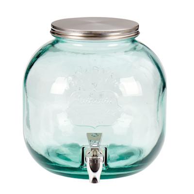 """CAMPUS """"Getränkespender """"""""Beverage"""""""", Fassungsvermögen 6 Liter, Glas, Metall, Ø23 x H24 cm"""""""