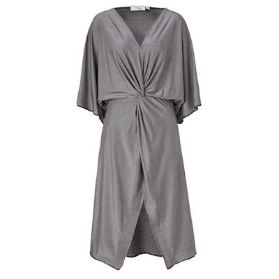 Cotton Candy Kleid, Kimono-Look, Wickeloptik, leicht oversized, leicht tailliert