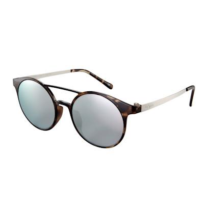 Le Specs Sonnenbrille, Polytheramidrahmen, Metallbügel, Acrylglas verspiegelt, modern