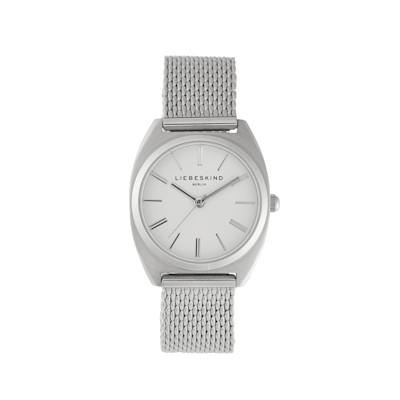 LIEBESKIND Berlin Armbanduhr, Drei-Zeiger-Uhr, Quarzuhrwerk, Mineralglas, edel
